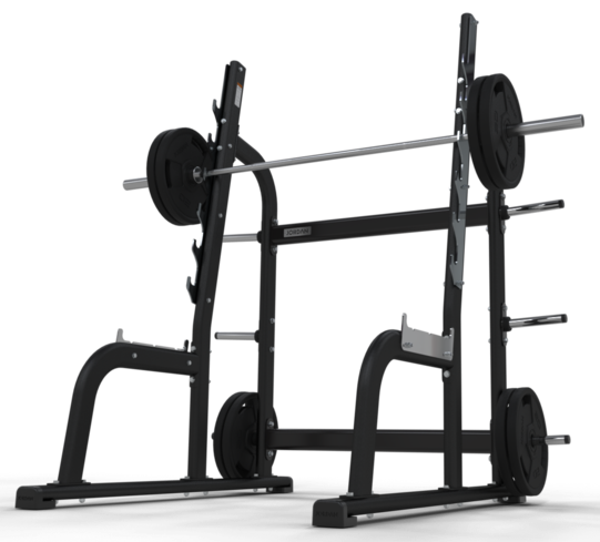 Olympic Squat Rack - Grey or Black