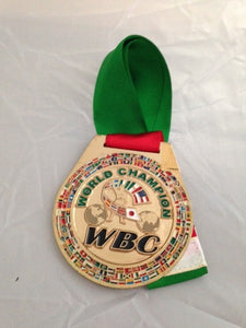 WBC Medal – Limited Edition Rare Gold Plated