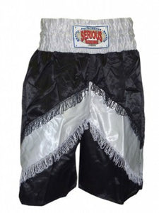 "Pro Inverted ""V"" Tassel Satin Boxing Shorts"
