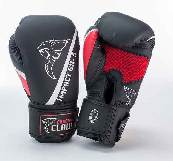 Impact GX-3 Sparring Glove Synthetic - Red or Black