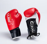 Pro Fight Gloves - Available in '8oz Black' or '10oz & 10oz XL Red'