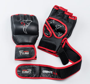 Grappling Glove Leather 6oz No Thumb