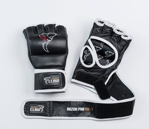 Grappling Glove 6oz Leather No Thumb