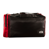 Cleto Reyes Embroidered Logo Black & Red Gym Bag