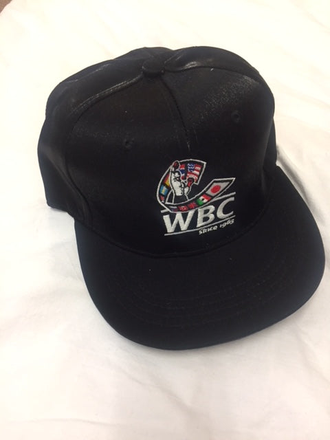 WBC Black Satin Cap
