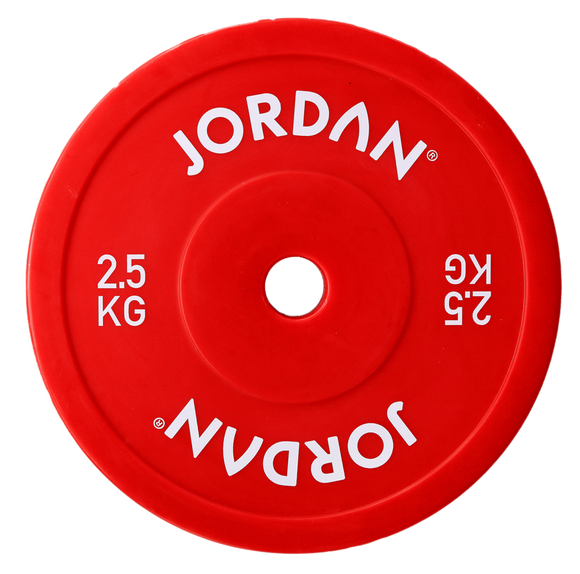 Olympic Hollow Technique Plates - 2.5kg Red or 5kg White