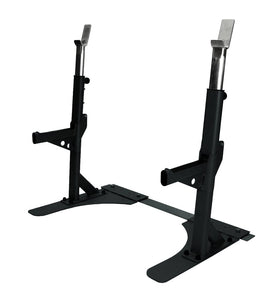 Premium Heavy Duty Squat Stand - Grey or Black