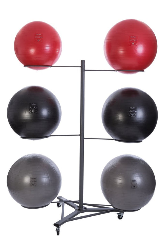 Fit Ball Rack (Empty) - 3 or 6 Ball Options