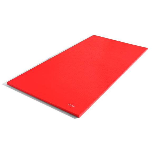40mm Multi Purpose Stretch Mats (with non slip base) - Black or Red