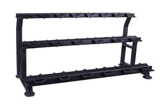 10 Pair Dumbbell Rack (3 tier)