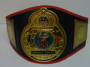 CHAMPIONSHIP BELT - Various colour options