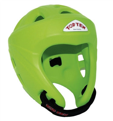 TOP TEN AVANTGARDE HEAD GUARD NEON GREEN