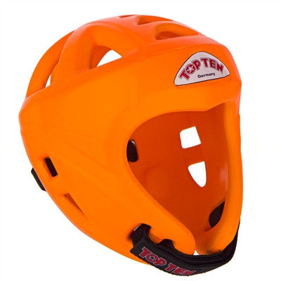 TOP TEN AVANTGARDE HEAD GUARD NEON ORANGE