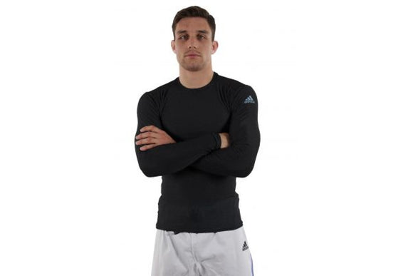 Adidas Long Sleeve Compression T-Shirt