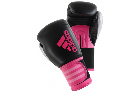 Adidas Hybrid 100 Women's Boxing Gloves - Pink 6oz & 10oz