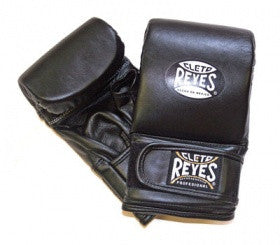 Cleto Reyes leather wrap around bag gloves-red or black