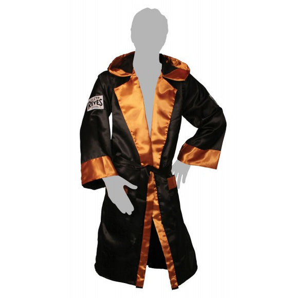 Cleto Reyes Satin Robe With Hood - Various Colour Options
