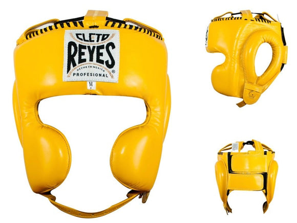 CLETO REYES HEADGUARD WITH CHEEK PROTECTION - Various Colour Options