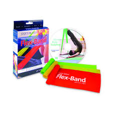 STOTT Pilates - Flex Band (Non-Latex) Three Pack