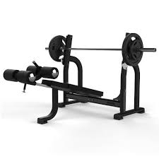 Olympic Decline Bench - Grey or Black