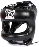 Cleto Reyes Headguard with Nylon Round Face Bar - Various Colour Options