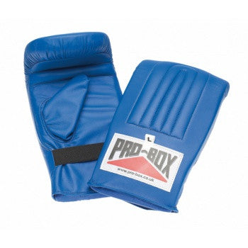 BLUE COLLECTION PRE-SHAPED PUNCH BAG MITTS