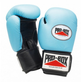 'BABY BLUE COLLECTION' LEATHER TRAINING GLOVES