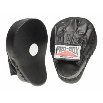 BLACK COLLECTION LEATHER/PU HOOK & JAB PADS