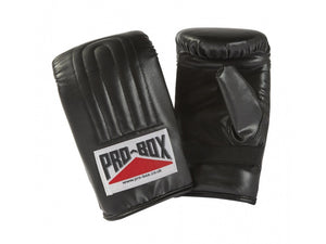 PRE-SHAPED PU BAG MITTS - All colours and sizes