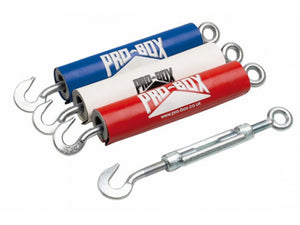 ROPE TENSIONER COVERS - For M12 or M16 Tensioners - Red, White or Blue