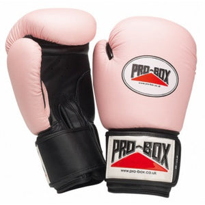 PINK COLLECTION LEATHER TRAINING GLOVES