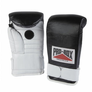 COACHSPAR GLOVES LEATHER BLACK/WHITE