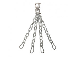 COMMERCIAL FOUR LEG SWIVEL PUNCH BAG CHAINS