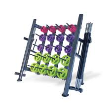 Rubber Body Pump Set Club Packs with Racks (30 sets)
