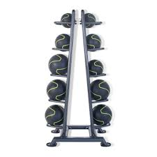 10 Med Ball Stand with 10 Medicine Balls