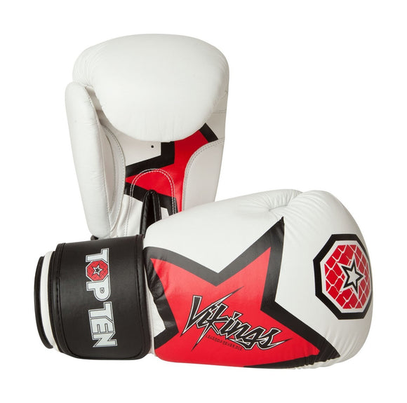 Top Ten Vikings Boxing Gloves 12oz