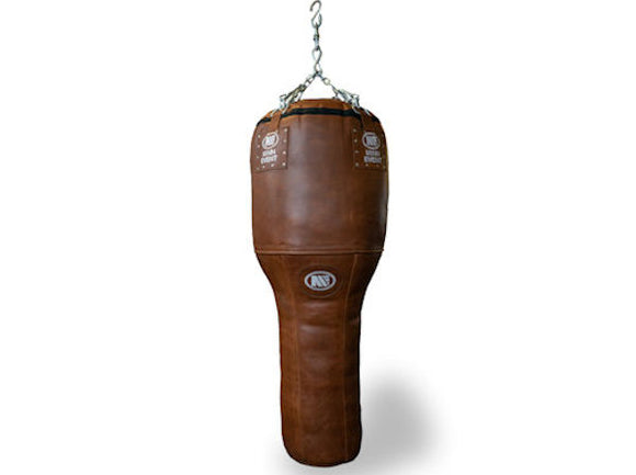 HERITAGE PROFESSIONAL LEATHER ANGLE PUNCH BAG 4FT - 50KG