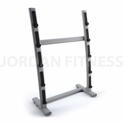 Single Sided 5 Bar Barbell Rack - Empty