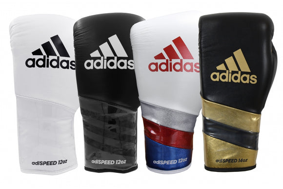 Adidas AdiSpeed Lace Boxing Gloves
