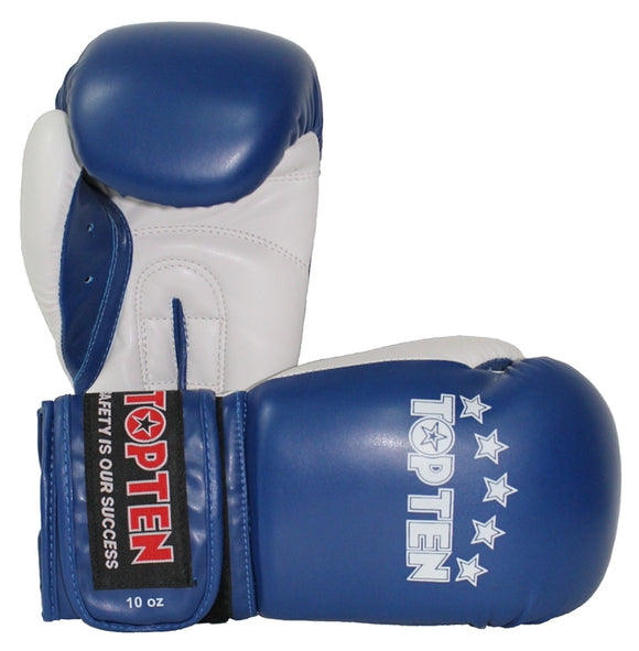 Top Ten Boxing Gloves NB II 10oz - Available in Blue, Orange or Green