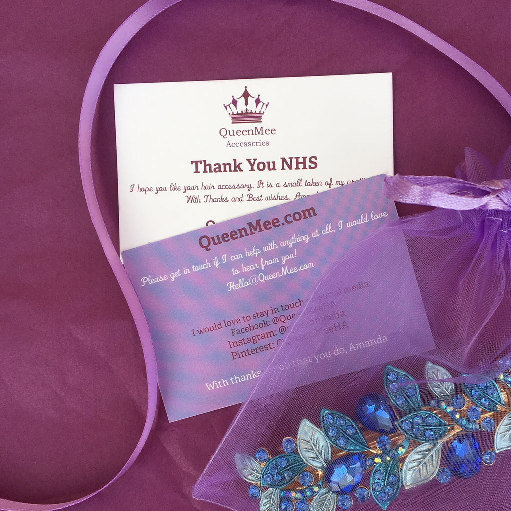 Hair Clip Gifts for NHS Workers