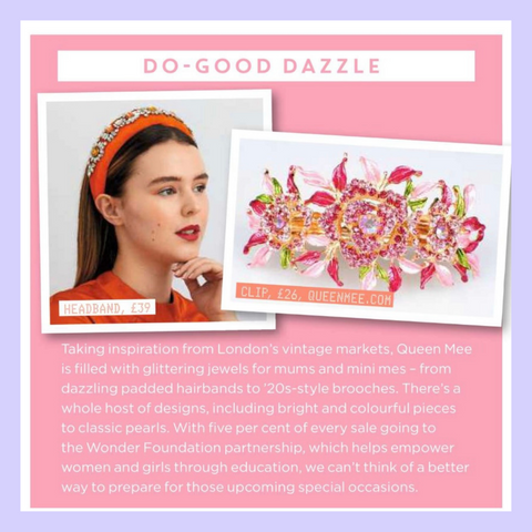 QueenMee Accessories Closer magazine feature