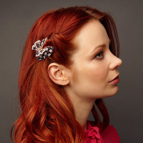 butterfly hair clip claw