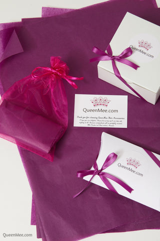 gift accessories for her wrapped