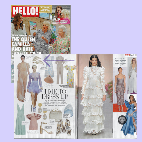 queenmee hair accessories hello! magazine
