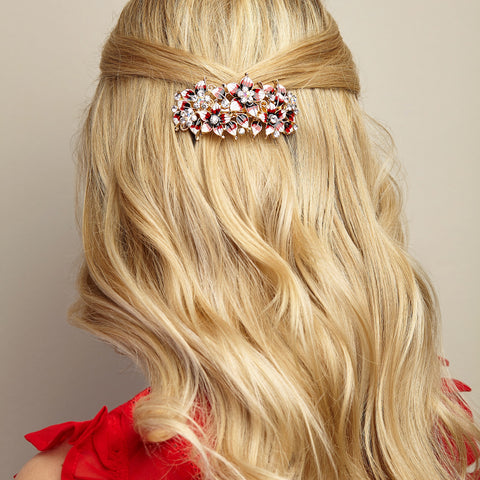 vintage hair accessory for wedding guest hair