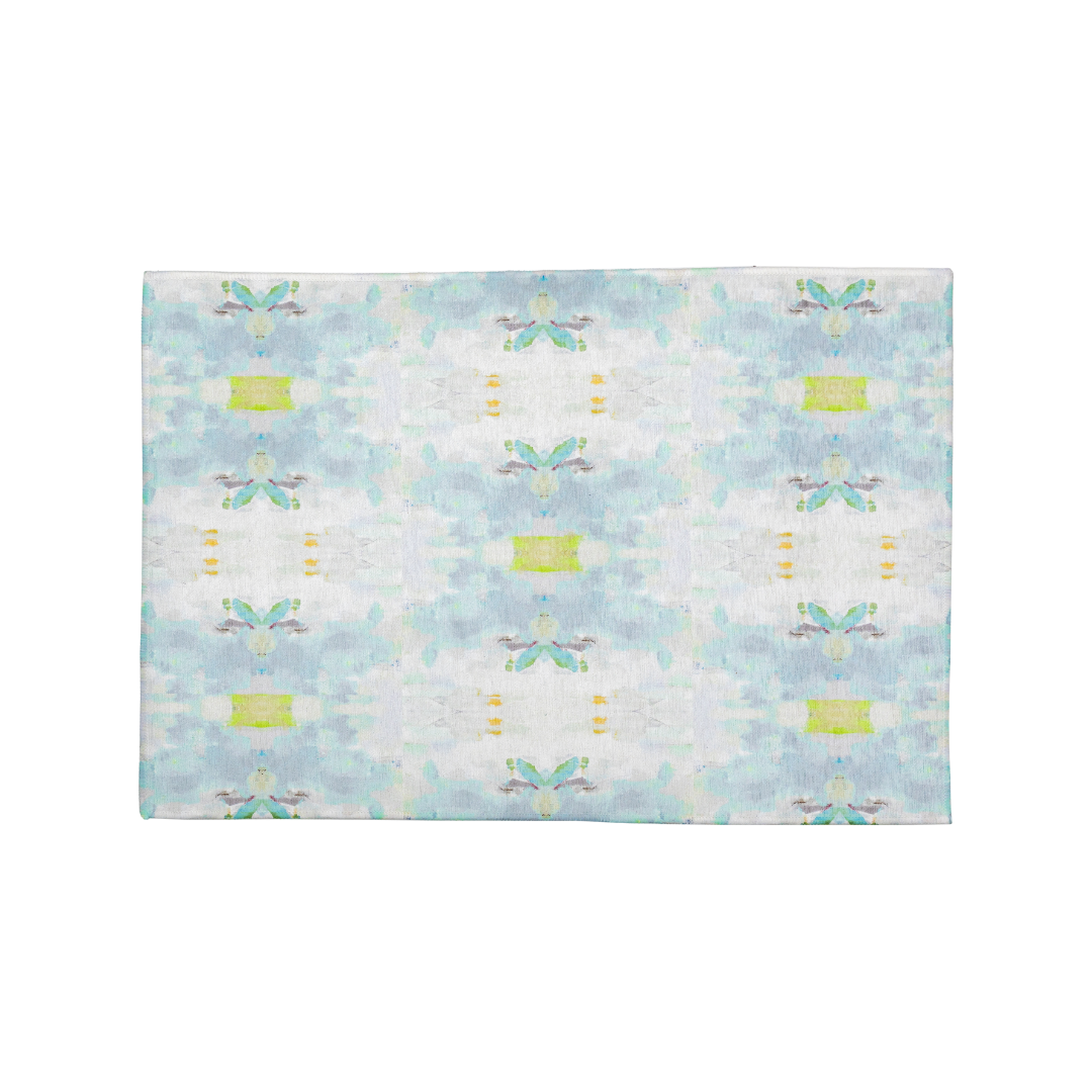 "Coral Bay Green Floor Mat <span style=""color:#00ADB3;font-weight:600;"">NEW</span>"