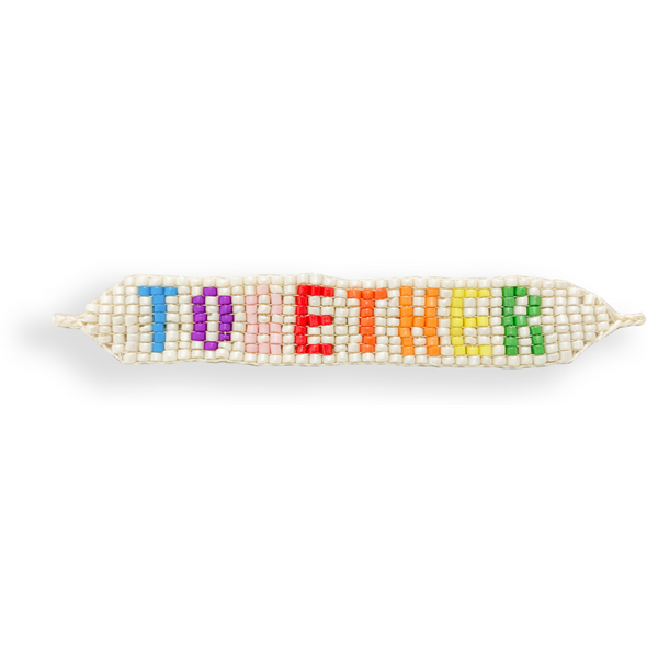 "Beaded ""Together"" Bracelet"