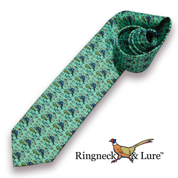 Atlantic-Green Necktie