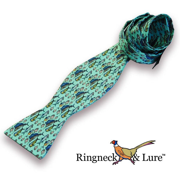 Atlantic Green Bow Tie
